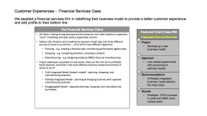 financial services case